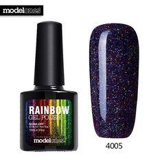 Beautiful Neon Rainbow Nails 10ML UV Nail Gel Polish Professional Long-lasting Nail Gel Varnish for Nail Art Design