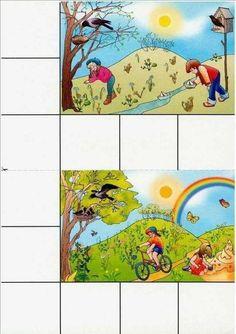Fun Activities For Kids, Book Activities, Crafts For Kids, Preschool Puzzles, Weather Seasons, Winter Kids, Busy Book, Kids Learning, Kindergarten