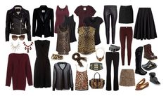 """""""Leopard, Oxblood and Black II"""" by aurastesia ❤ liked on Polyvore featuring Abercrombie & Fitch, maurices, Pieces, Mossimo, Dr. Martens, River Island, Warehouse, Jacobies, dVb Victoria Beckham and Dorothy Perkins"""