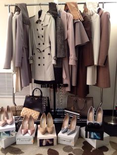 Basics For Fall & Winter With Neutral Palettes.