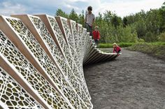 Surface Deep: Honeycomb Moss Sculpture Swells Across Quebec's Reford Garden | Inhabitat - Sustainable Design Innovation, Eco Architecture, Green Building