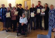 Local Volunteers Recognised at the TVCS AGM