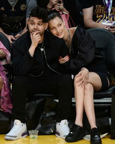 The Weeknd and Bella Hadid couple