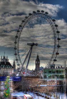 Big Ben through London Eye Continental Europe, Irish Sea, North Sea, London Eye, Small Island, Great Britain, Big Ben, My Dream, United Kingdom
