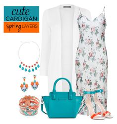 """""""Cute Spring Cardis"""" by southindianmakeup1990 ❤ liked on Polyvore featuring Oasis, Hipanema, Yves Saint Laurent, Vera Bradley, Gianvito Rossi, Slate & Willow and Liz Claiborne"""