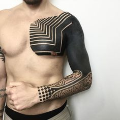 Sleeve and Chest Ink