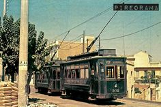 17. Άγιος Βασίλειος – Νέο Φάληρο Good Old Times, Public Transport, Old Photos, Wwii, Greece, The Past, To Go, Street View, History