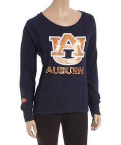 This Auburn Tigers Scoop Neck Pullover - Women is perfect! #zulilyfinds