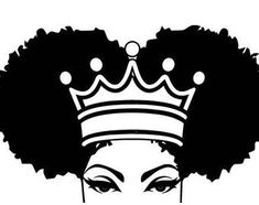 beautiful princess african nubian black women queen afro hair etsy Black Women Nubian Princess Queen Afro Hair Beautiful African EtsyYou can find Black women art and more on our website African Queen Tattoo, African Tattoo, African American Tattoos, African American Art, Black Woman Silhouette, Silhouette Art, Black Love Art, Black Girl Art, Red Black