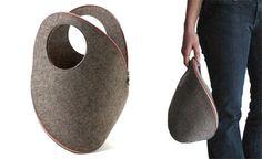 Beautiful felt bag