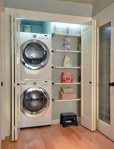 die 16 besten bilder von hauswirtschaftsraum ideen kleine waschk che badezimmer und stauraum. Black Bedroom Furniture Sets. Home Design Ideas