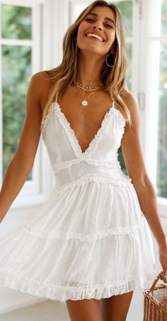 Marriage Gown White One Shoulder Dress Toddler Dresses White Poofy Dress - Marriage Gown White One Shoulder Dress Toddler Dresses White Poofy Dre – inloveshe Source by - Short Summer Dresses, White Dress Summer, White Mini Dress, White Sundress, Short White Dresses, White Spring Dresses, Cute Dress For Summer, Short Casual Dresses, White Dress Casual