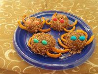 quelle piccole pesti: Ragnetti cioccolatosi: Ricette sfiziose halloween ...