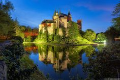 Bojnice Castle, Slovakia   If you are into Romantic castles with original, 12th century, Gothic and Renaissance elements than you MUST see this incredible medievel castle. Before reaching its ginormous size, Bojinice Castle was originally built as a simple wooden fort.