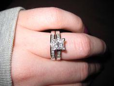 Diamond Size Comparison Color Clarity 2 Carat 1 Ct Ring on Finger Hand 3 5 12 Cut Price vvs women
