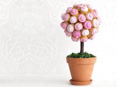 Edible Mother's Day Arrangement- Cupcake Topiary