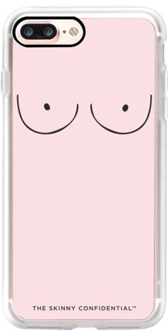 Casetify iPhone 7 Plus Classic Grip Case - The Boobs: Bubblegum Pink by theskinnyconfidential #Casetify