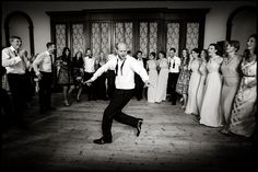 Cutting loose on the dance floor