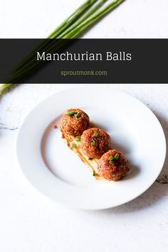 Learn how to make crispy Manchurian Vegetarian Meatballs for your vegetarian Manchurian gravy. This delicious Indian dish can also be served as a snack or appetizer for parties. Want to switch it up?  Try my chicken meatball variety. Watch the step-by-step recipe video in this post.