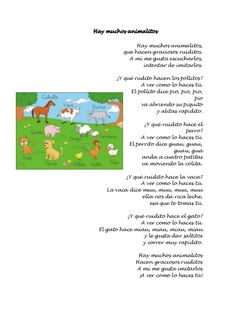 Cancionero infantil Escuela Bibichu Words, Frases, Nursery Rhymes Lyrics, Kids Songs, Infant Activities, Baby Learning, Inclusive Education, Horse