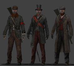 The Order 1886 Concept Art - Rebels