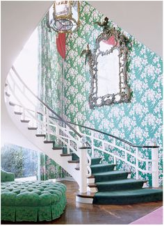 The Greenbrier in West Virginia Interior | Ring the Bellboy Inspiration