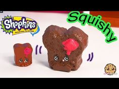 DIY Shopkins Season 3 Toastie Bread SQUISHY TOY Craft Make & Do It Your Self How To Video - YouTube