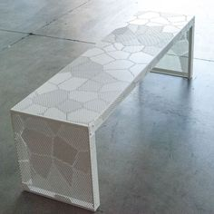 Panchina LEAVEN 120 In Alluminio, Medes Metal Design