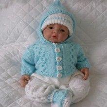 "17 - 22"" Doll / 0-3 mths Baby #90"