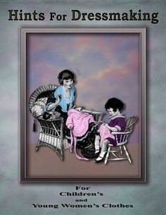1920s Easy to Make Vintage style Cute Childrens by RumbleSeatCat, $9.95