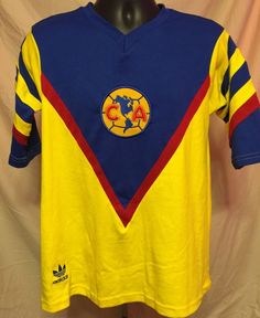 a00e2a5679f Club America Jersey Retro BRAILOVSKY XL Club América, Liguilla Mx, Mexican  Soccer League,