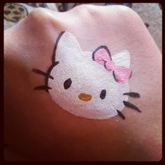Hello kitty cheek design by hellomisshastings