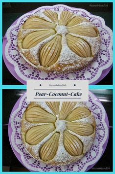 Pastry Dishes, Austrian Recipes, Pound Cake, Pear, Wordpress, Coconut, Tasty, Cakes, Coffee
