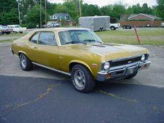 1972 Chevrolet Nova SUPER SPORT 350 4bbl/TH350 auto