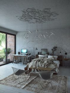 nowoczesna-STODOLA- Bedroom-office-Andrey-Vladimirov-11