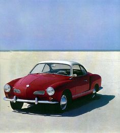 1968 VW Karmann Ghia: German engineering, Italian styling, and French mustache