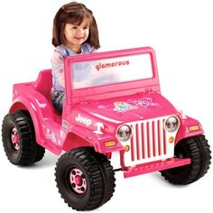 fisher price power wheels barbie jeep 6 volt battery powered ride on