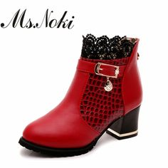 Christmas Women's Classic Winter Snow Boot Pull-On Type