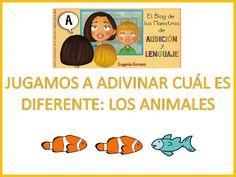 Jugamos a Adivinar cual es el diferente - Los animales- Juego educativo para niños - YouTube