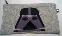 Darth Vader E-reader Pouch for D. Used the FREE paper piecing templates found here: http://quietplay.blogspot.com/2013/08/progress-sneak-peek.html