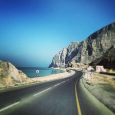 On the road- Oman