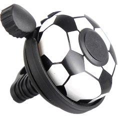 Voetbal fietsbel
