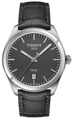 T101.410.16.441.00, T1014101644100, Tissot pr 100 watch, mens