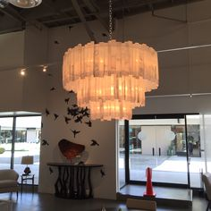 Chandelier at Thomas Lavin