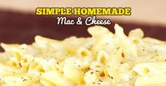 Super Simple Mac & Cheese Italian Style is a go to recipe around here. With just 7 ingredients and 15 minutes you can have this fantastic dinner on the table. It is the ultimate left-over and weeknight dinner helper.