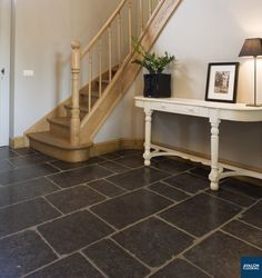 Belgian Bluestone Limestone Flooring | Natural Stone Floors are the perfect addition to your space that will give it a timeless look.