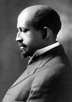 W.E.B. Du Bois, Gelatin silver print c.1911 - double consciousness