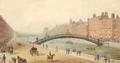 Happy Birthday to Dublin's  Ha'penny Bridge