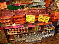 Presunto (cured ham) in Serra da Estrela-Central Portugal