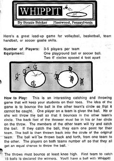 Here's a great lead-up for volleyball, basketball, team handball, or soccer goalie skills. Physical Education Lesson Plans, Physical Activities For Kids, Pe Activities, Education Quotes, Kentucky Basketball, Duke Basketball, Sports Basketball, Kentucky Wildcats, College Basketball